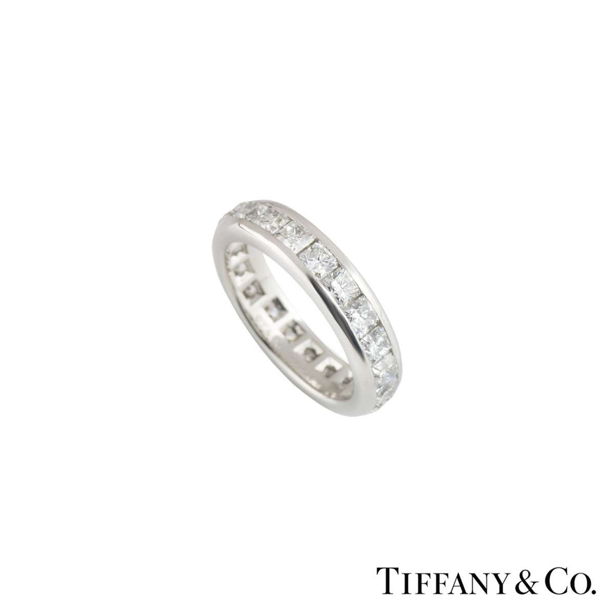 c069a9fea Tiffany & Co Diamond Lucida Eternity Ring 2.73ct